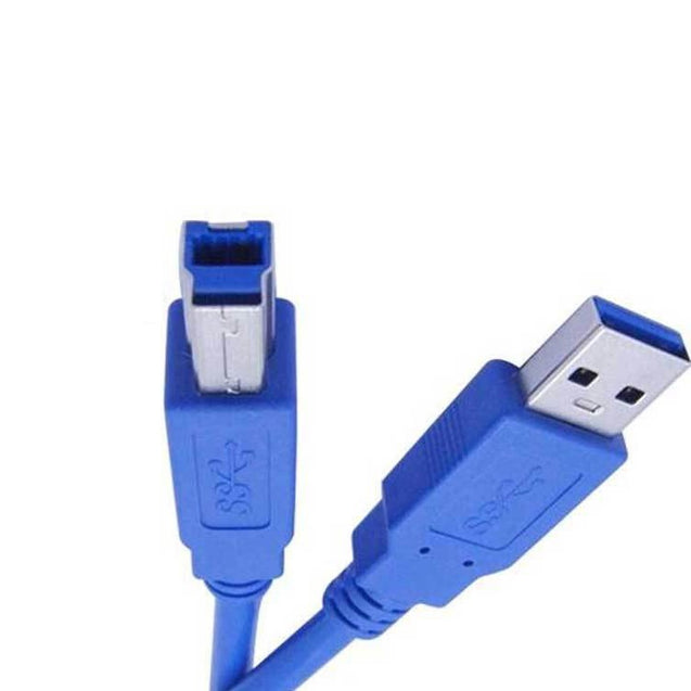 PTron 3 Meter USB 3 0 Type A To B Male Printer Cable AM To BM