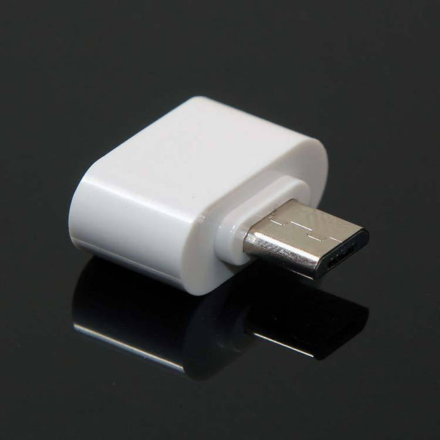 Universal Micro USB OTG Adapter OTG Connector White