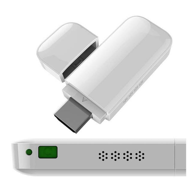PTron iPush D2 HDMI Airplay DLNA Dongle Connect iPhone iPad wireless with HDTV (White)