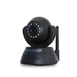 Wanscam Wireless WiFi WPA Network Webcam IP Camera JW0003 Black