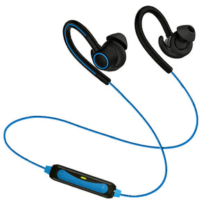 PTron Sportster In-ear Bluetooth Headset Wireless Stereo Earphones With Mic For LG Smartphones Blue