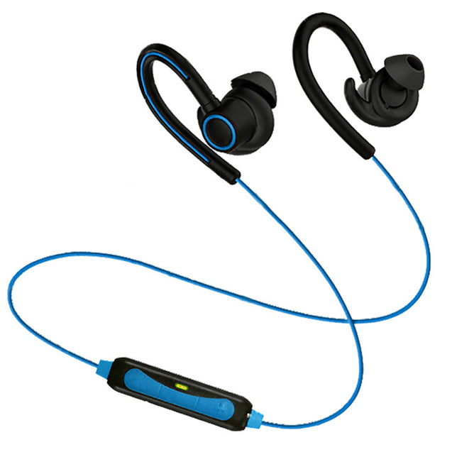 PTron Sportster In-ear Bluetooth Headset Wireless Stereo Earphones With Mic For Xiaomi Redmi 3S Blue