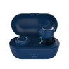 Refurbished - pTron Bassbuds True Wireless Stereo Bluetooth Earbuds (TWS) with Mic - (Blue)