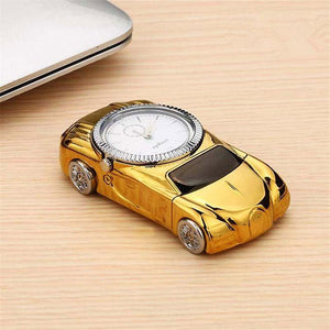 DaZon Sports Ignite Car Designed USB Lighter Watch With Rechargeable (Gold/White)