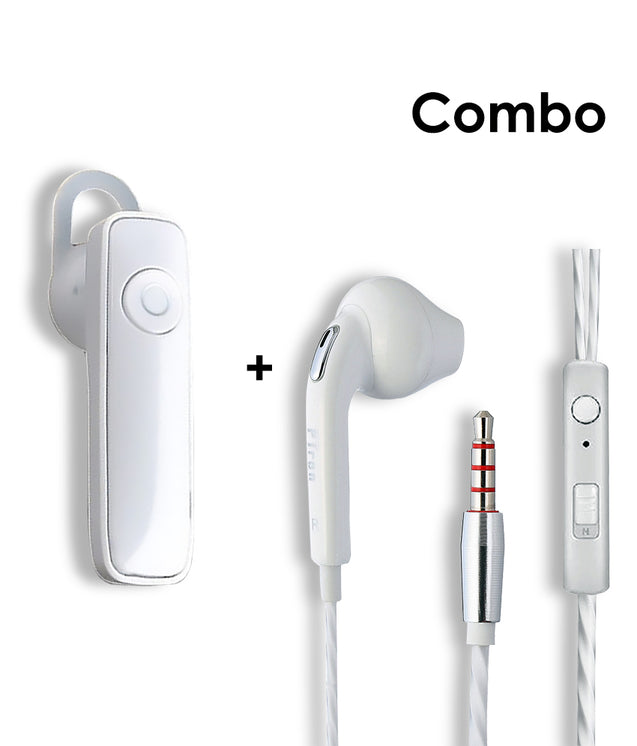 Buy PTron HBE7 Deep Bass Mic Headphone and Get Xmate Genie Mini Bluetooth White Earphone Free