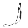PTron Avento Bluetooth Headphones In-Ear Wireless Earphones With Mic For Huawei P20 Lite (Black)