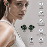 Refurbished - pTron Bassbuds True Wireless Stereo Bluetooth Earbuds (TWS) with Mic - (Green)