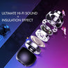 pTron Avento Plus Bluetooth 5.0 In-Ear Magnetic Headphones for Oppo F11/F11 Pro - (Grey/Black)