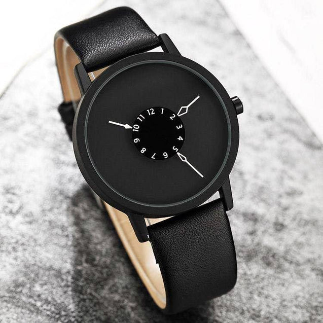 Buy DaZon Astro Unisex Watch With Rotatable Scale Dial , Get Ladies Analog Dial Wrist Watch Free