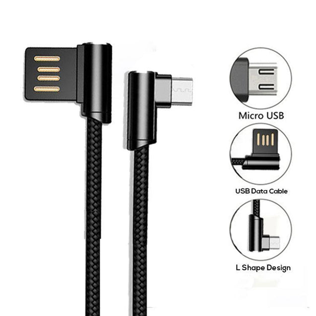 PTron Solero And Indigo USB To Micro USB Data Cable Charger For Android Smartphones (Black)