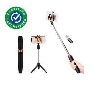 Refurbished -pTron Glam Plus Bluetooth Extendable Selfie Stick