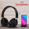 PTron Kicks Bluetooth Headset Wireless Stereo Headphone With Mic For All Smartphones (Black)