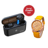 Buy Refurbished - pTron Tango - Black , Get DAZON Double Sided Watch  Free