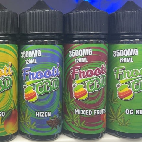 Frooti tooti CBD 3500mg / 120ml