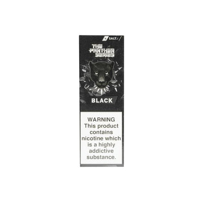 Black Panther SALTS (10mg) by Dr Vapes 10ml