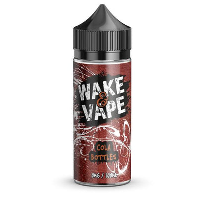 Wake N Vape 0mg 100ml Shortfill (70VG/30PG) includes 2 nic shots