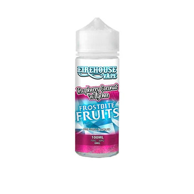 Firehouse Vape Frostbite Fruits 100ml Shortfill 0mg (70VG/30PG) includes 2 nic shots