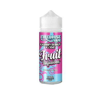 Firehouse Vape Fruit Infusions 100ml Shortfill 0mg (70VG/30PG) includes 2 nic shots