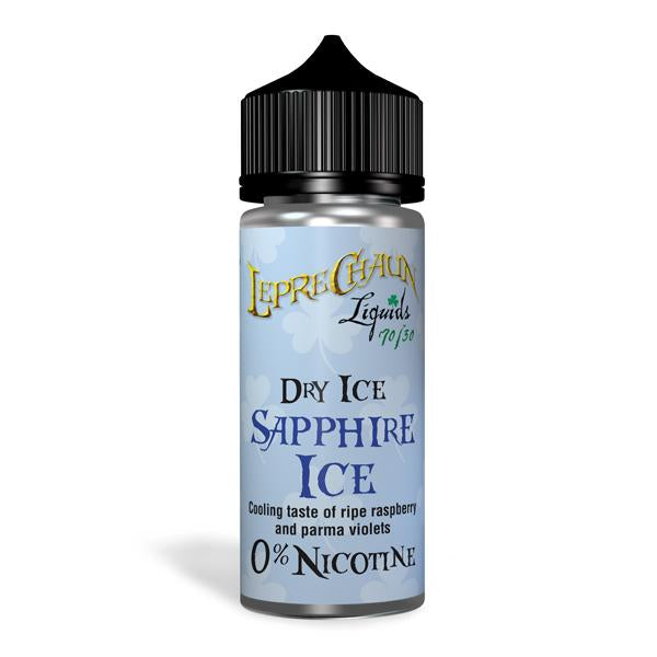 Leprechaun Dry Ice 120ml (100ml Shortfill + 2 x 10ml Nic Shots) (70VG/30PG)