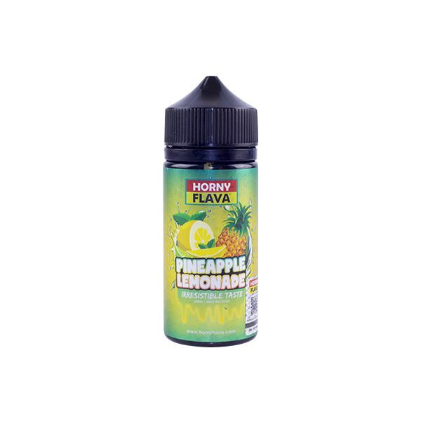 Horny Flava Lemonade Series 100ml     includes 2 nic shots