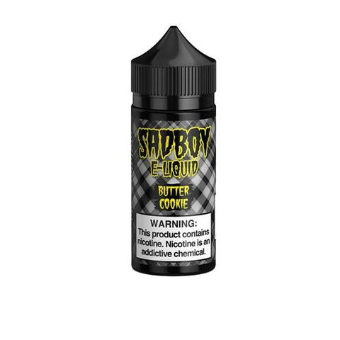 Sadboy Original Range 100ml Shortfill 0mg (70VG/30PG) includes 2 nic shots