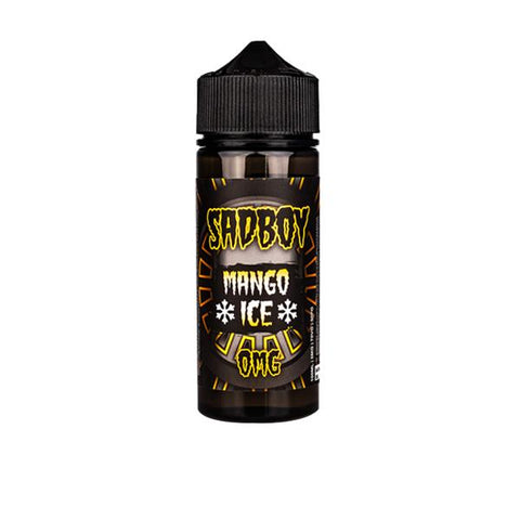 Sadboy Ice Range 100ml Shortfill 0mg (70VG/30PG) includes 2 nic shots