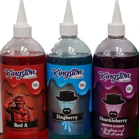 Kingston 500ml, includes 10 nic shots