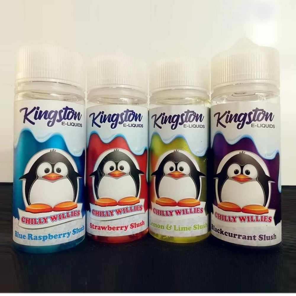 Kingston Chilly Willies 100ml (FREE Nic shots included)