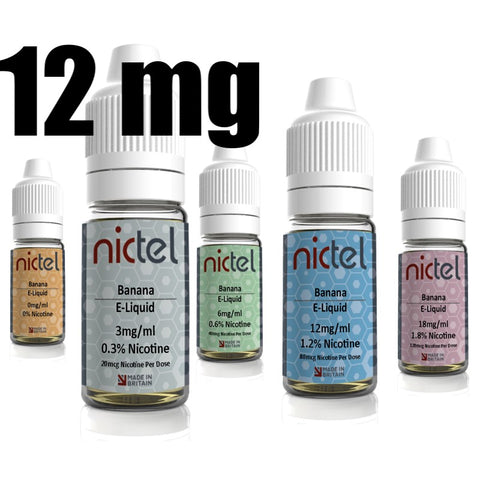 Nictel 12mg - £2.00 or 6 for £10.