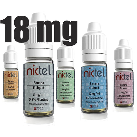 Nictel 18mg - £2.00 or 6 for £10.