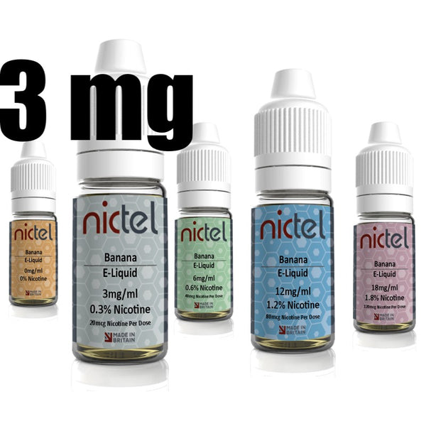Nictel 3mg - £2.00 or 6 for £10.