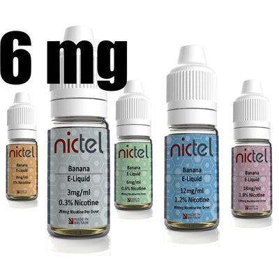 Nictel 6mg - £2.00 or 6 for £10.