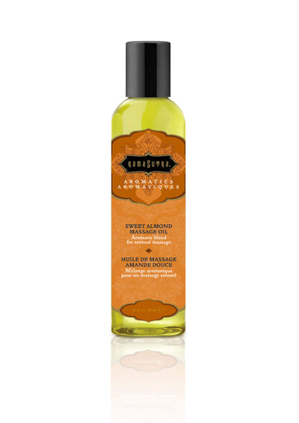 Kamasutra Aromatics Massage Oil Almond 59ml - Ulei pentru masaj erotic migdale