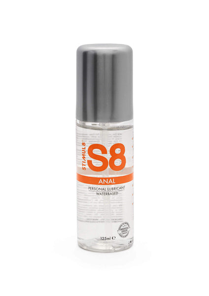 S8 Waterbased Anal Lube 125ml - Lubrifiant anal