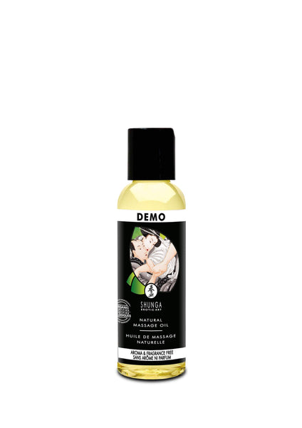 Shunga Ulei Erotic Massage Oil Natural 60ml - Ulei pentru masaj erotic natural
