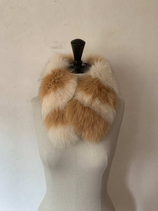受注商品:Fox fur tippet