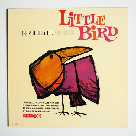 THE PETE JOLLY TRIO - LITTLE BIRD