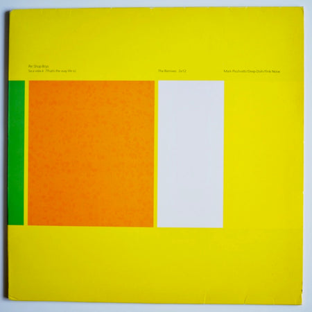 Pet Shop Boys ‎– Se a vida e (That's the way life Is) / The Remixies 2×12