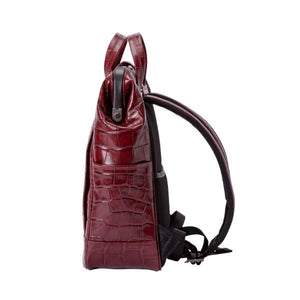 Cavallo Croco Compact Doc-Rucksack Bag