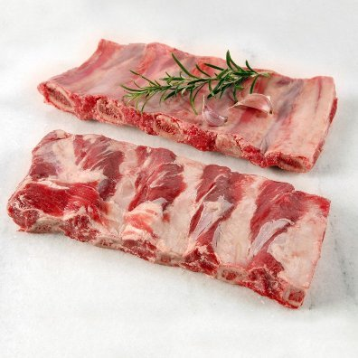 Beef Back Ribs  <br><small>($14.00 / kg) </small>