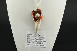 Wildrose Necklace by Dennis Shorty