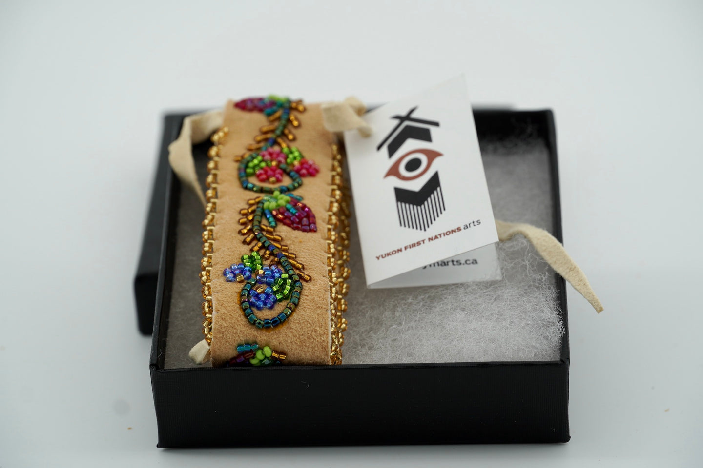 Hometanned Bracelet by Sharon Vittrekwa
