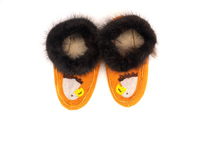 Beaded Eagle Moccasins by Shirley Smith (size M8/W10)