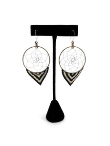 Dreamcatcher Hoops by Temira Vance