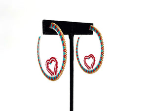 Heart Hoops by Temira Vance