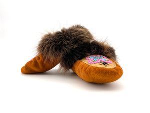 Child Beaded Slippers by Gertie Tom 4-6 years