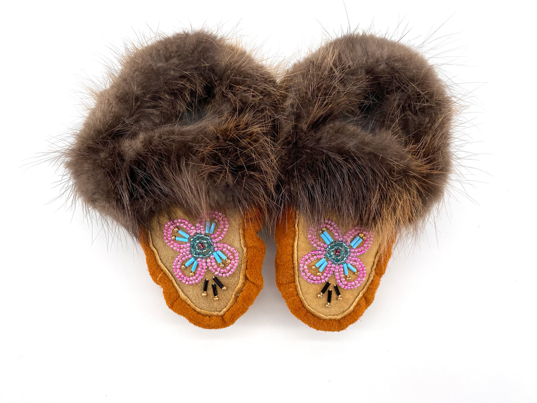 Child Beaded Slippers by Gertie Tom