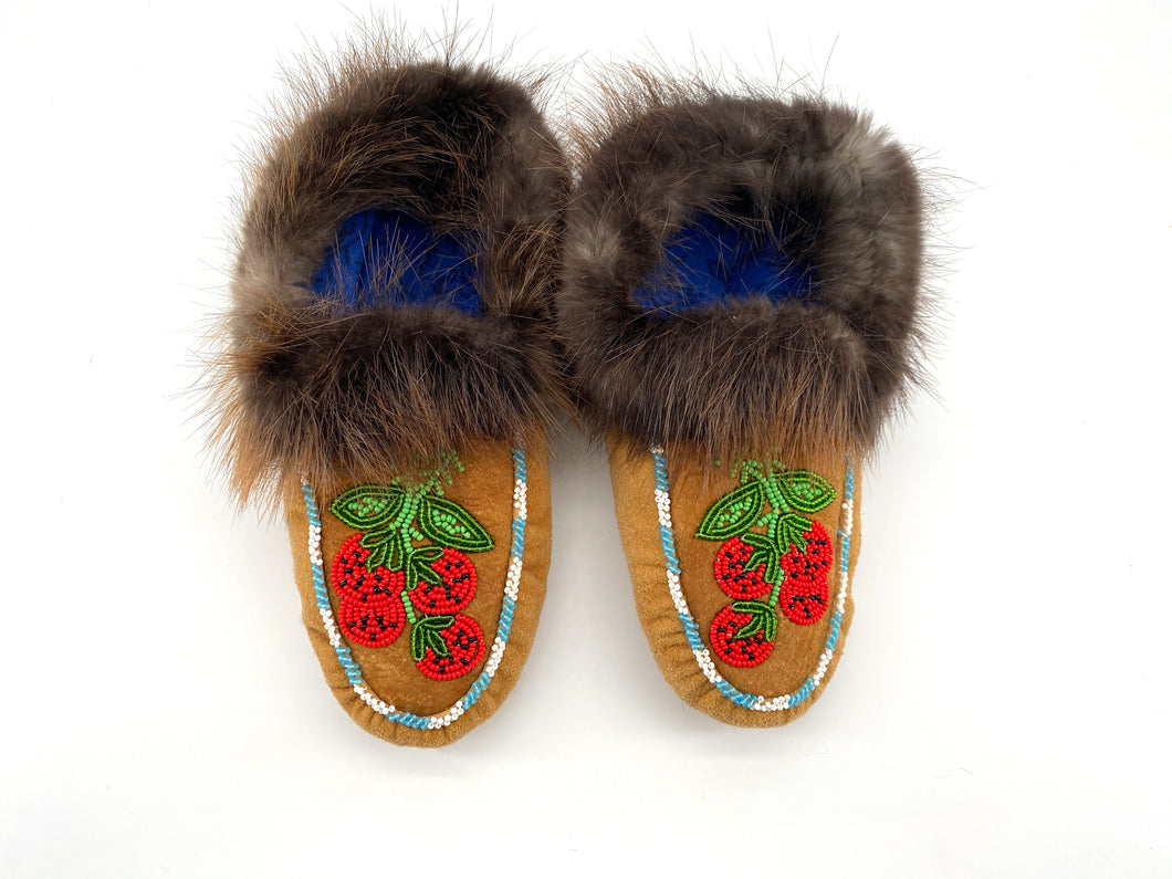 Various Beaded Slippers by Gertie Tom
