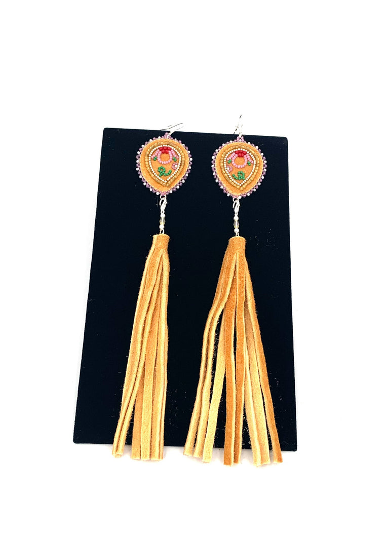 3-in-1 Reverse Teardrops with Tassels by Janelle Hager