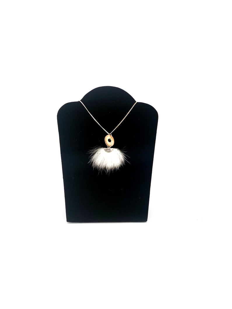 Rabbit and Caribou Necklace by Tammy Wood